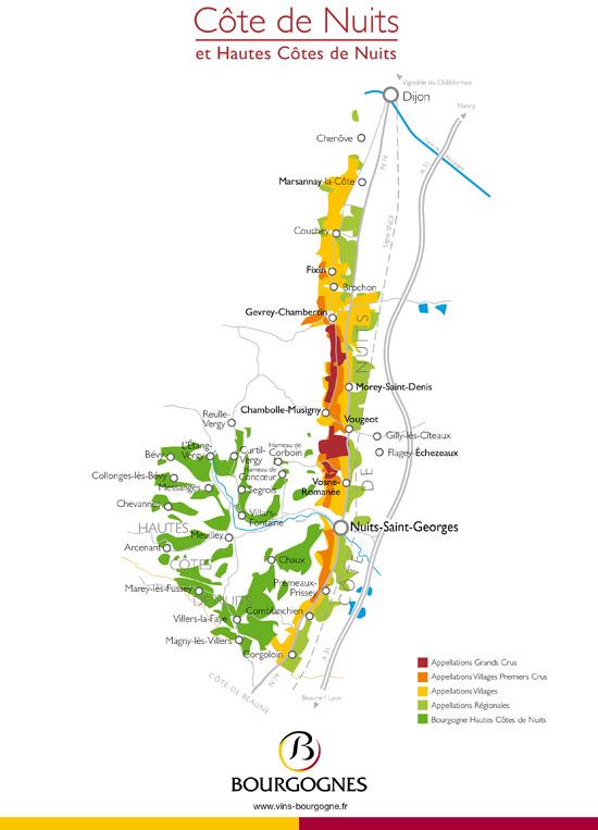 Carte De Bourgogne Route Des Vins.Telechargement Vins De Bourgogne