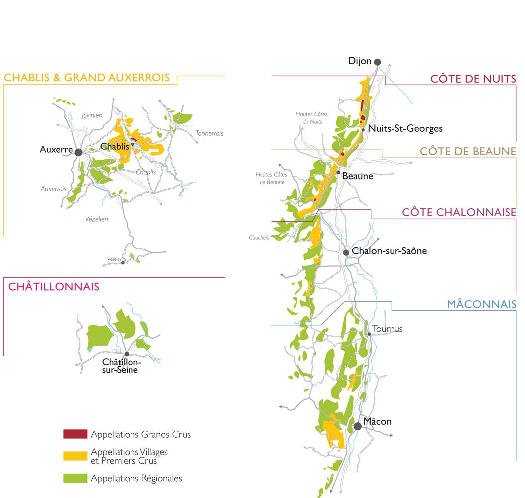 Carte Vin Bourgogne Blanc.Bourgogne Aligote Vins De Bourgogne