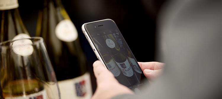 application smartphone Abacchus vins de Bourgogne